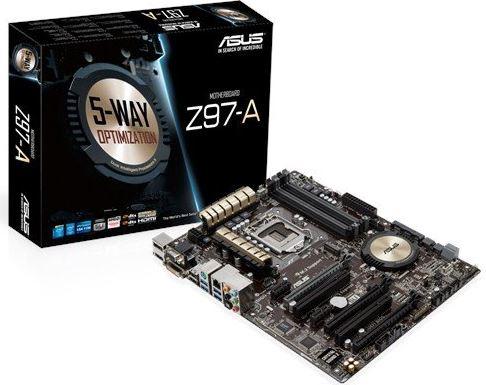 ASUS Z97-A ATX DDR3 2600 LGA 1150 Motherboard