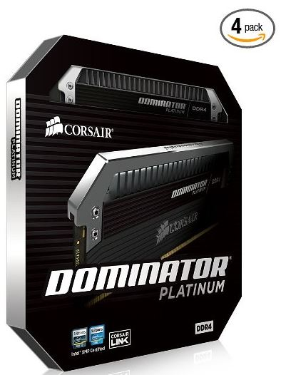 Corsair Dominator Platinum Series 16GB 4 x 4 GB DDR4 2800MHz PC4 2800