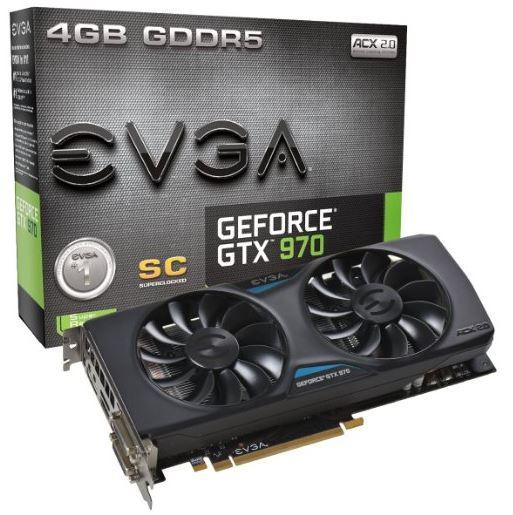 EVGA GeForce GTX 970 Superclocked