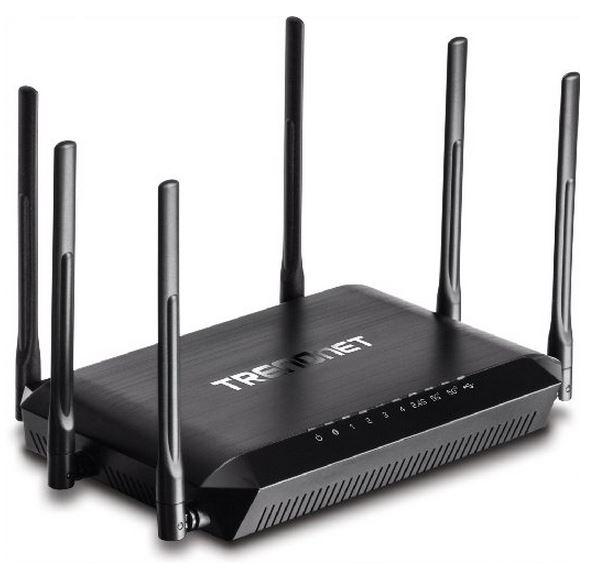 TRENDnet AC3200 Tri Band Wireless Router TEW-828DRU
