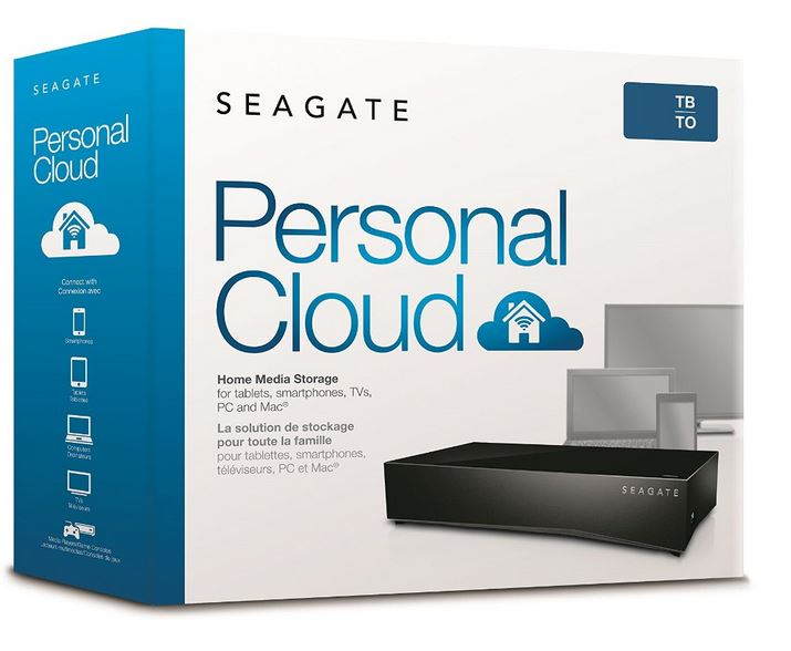 Seagate Personal Cloud 2-bay Home Media Storage Device