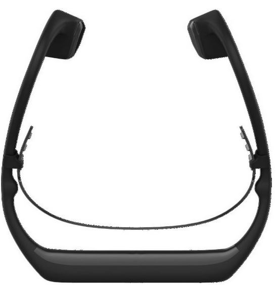 Damson Audio DAHB01BK Headbones Bone Conduction Headphones