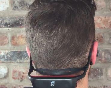 Damson Audio DAHB01BK Headbones Bone Conduction Headphones