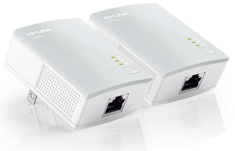 TP-LINK TL-PA4010KIT AV500 Nano Powerline Adapter Starter Kit