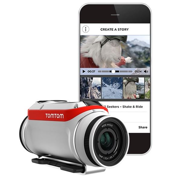 TomTom Bandit GPS Enabled Action Camera