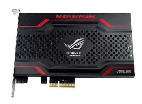 ASUS RAIDR PCI Express 240 GB and 8-Inch PCIe SSD 90MB0G60-M0AAY0