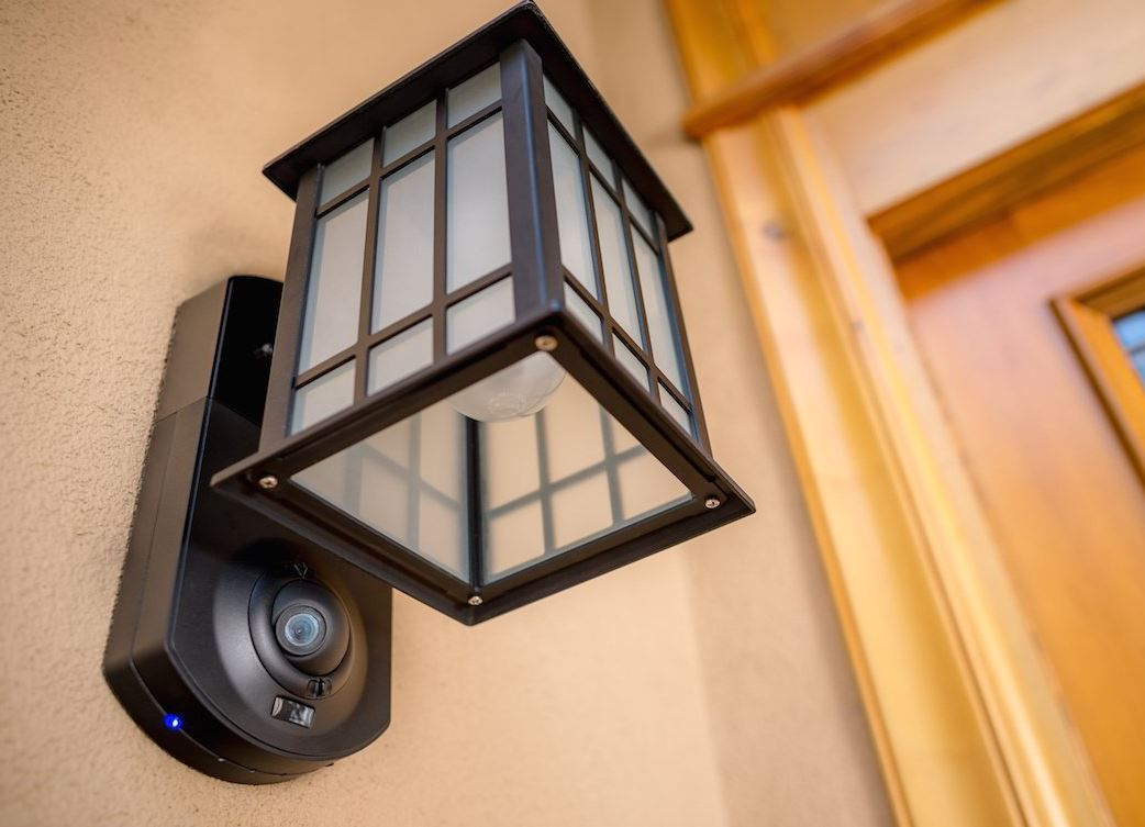 KUNA Integrated Smart Home Security Light