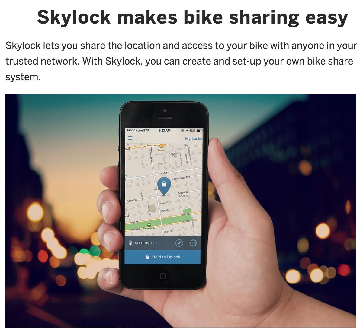 Skylock Bike Lock