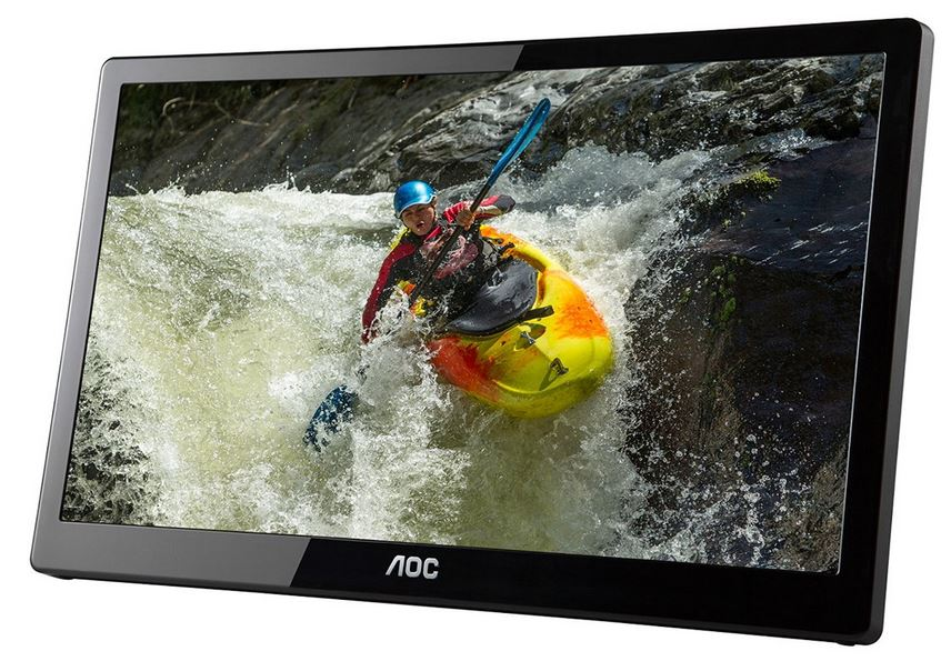 AOC e1659Fwux 16-Inch Portable LED Monitor