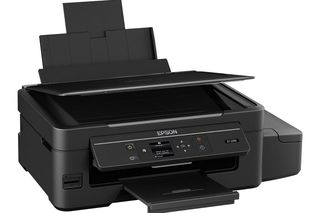 Epson Expression ET-2550 EcoTank Wireless Color All-in-One Supertank Printer