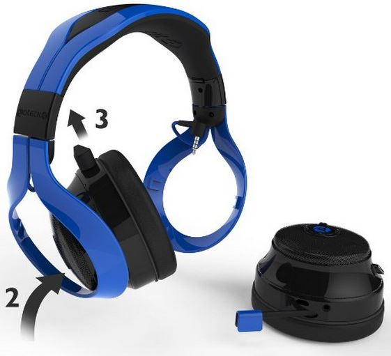 Gioteck FL-300 Wireless Stereo Headset