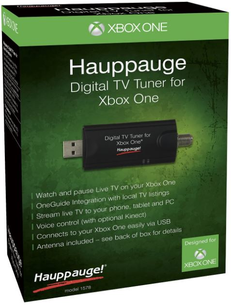 HAUPPAGE Digital TV Tuner for Xbox One