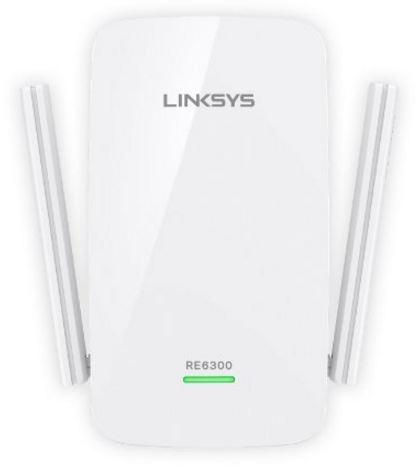 Linksys AC750 Boost Wi-Fi Range Extender RE6300