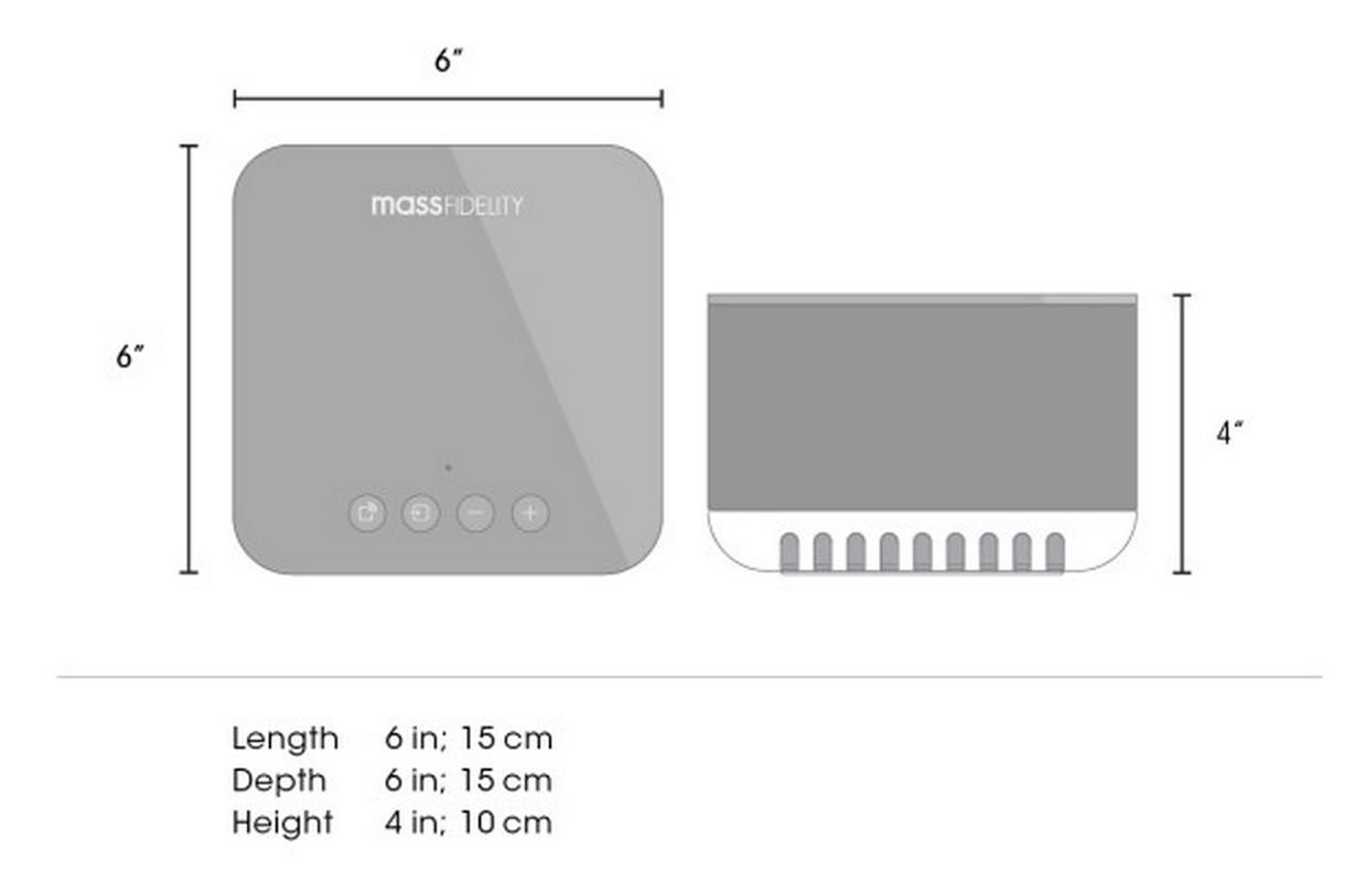Mass Fidelity: Core Hi-Fi Wireless Speaker System