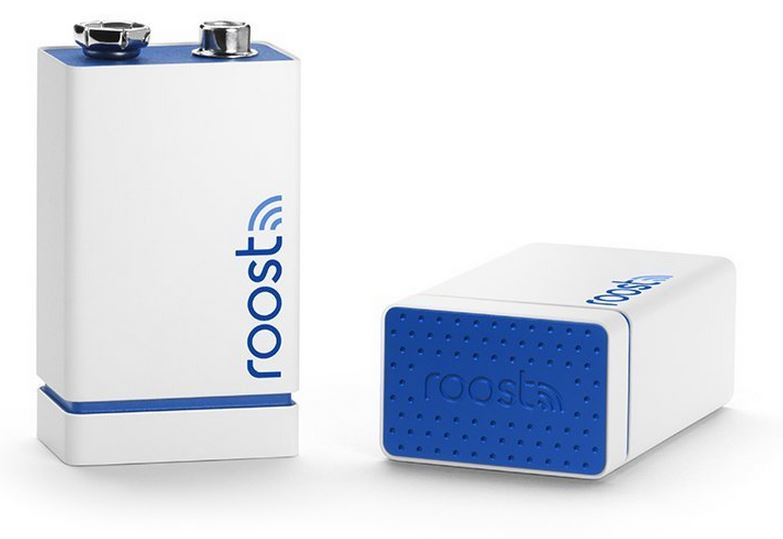 Roost Smart WiFi Battery for Smoke Alarms