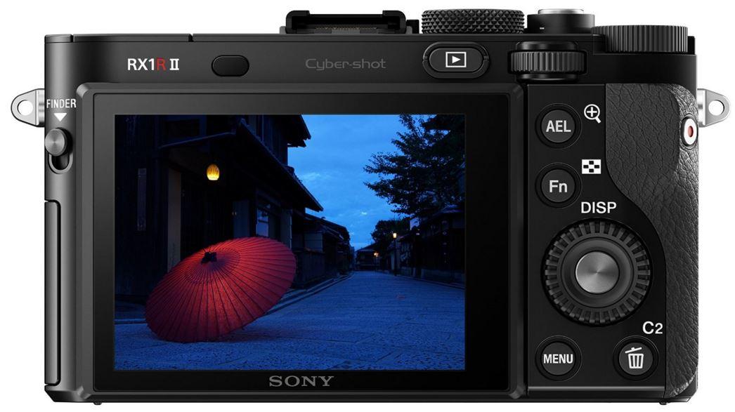 Sony Cyber-Shot DSC-RX1RM2 back