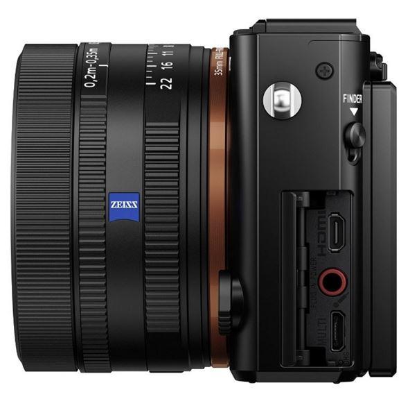 Sony Cyber-Shot DSC-RX1RM2 side
