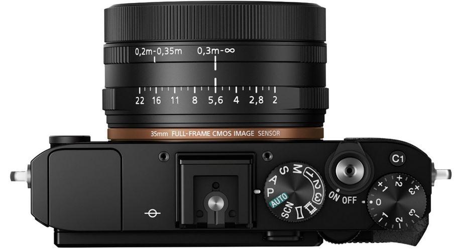 Sony Cyber-Shot DSC-RX1RM2 top