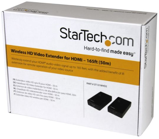 StarTech.com HDMI over Wireless Extender