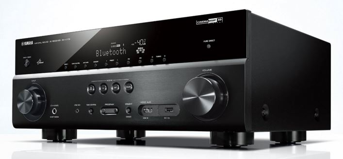Yamaha RX-V779BL 7.2-Channel MusicCast AV Receiver with Bluetooth