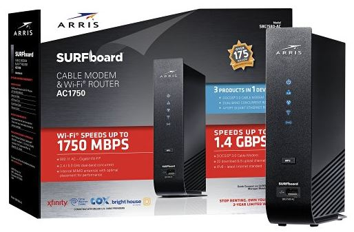 ARRIS SURFboard SBG7580