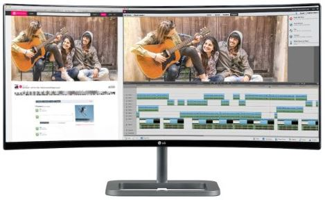 LG Electronics UC87 34UC87C 34.0-Inch Screen LED-Lit Monitor