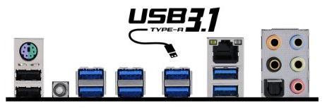 MSI X99A SLI Plus Motherboard back