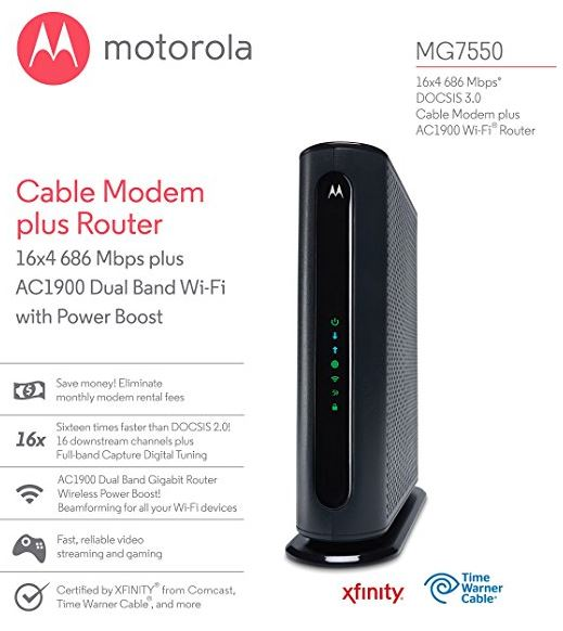 Best Cable Modem Wifi Router Combo To Buy In 2018 Reviewdots