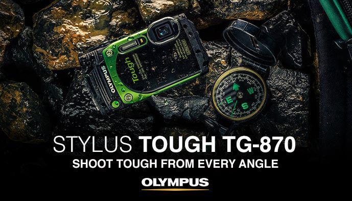 Olympus Tg 870 Tough Waterproof Digital Camera Review