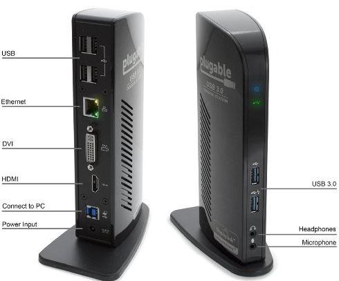 Plugable UD-3900 USB 3.0 Universal Docking Station