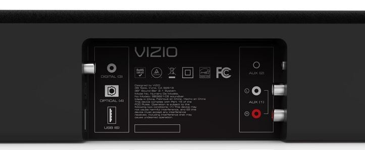 VIZIO SB3821-C6 38-Inch Sound Bar