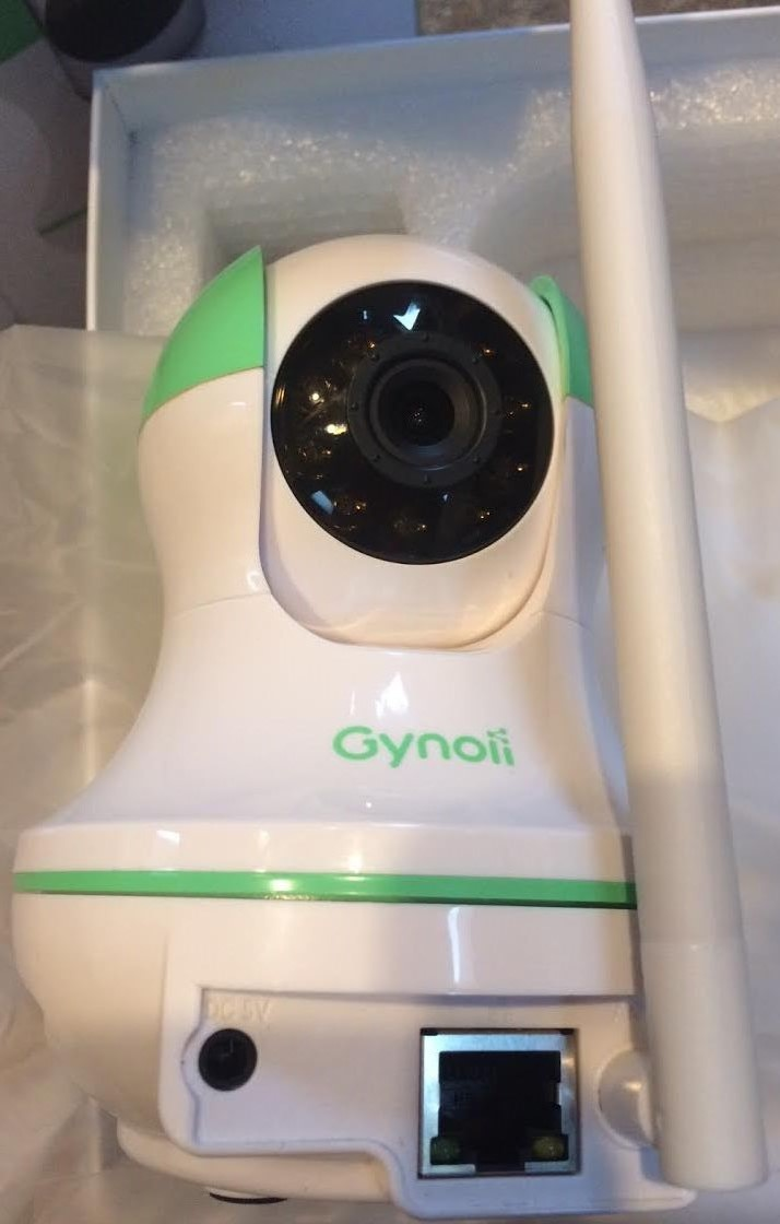 Gynoii Smart WiFi Video Baby Monitor GPW-1025