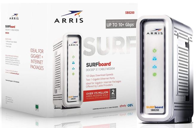 ARRIS SURFboard SB8200