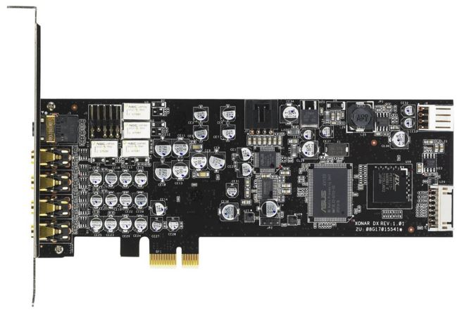 Asus Xonar DX PCIe x1 7.1 Channel Sound Card
