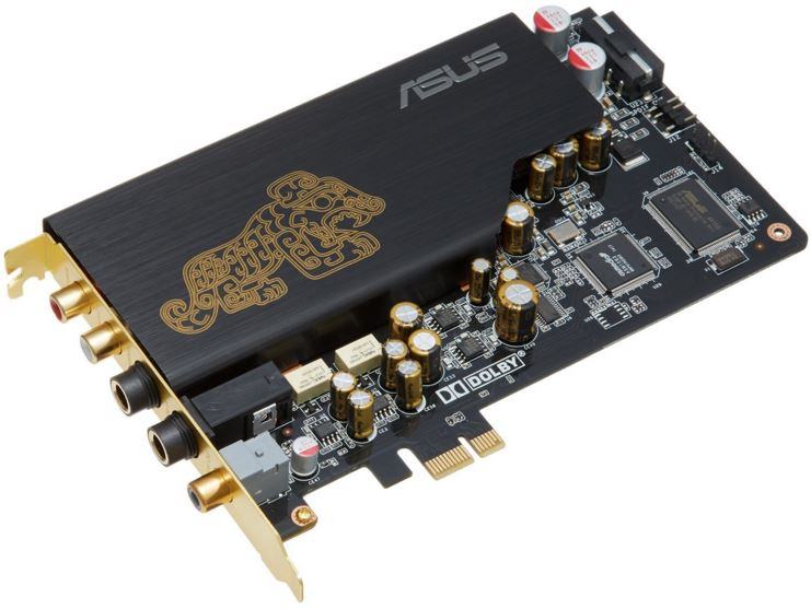 ASUS PCI-Express x1 Sound Card
