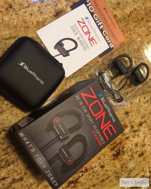 Bluephonic Zone In-Ear Bluetooth Headphones