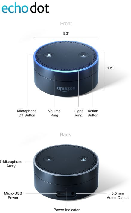 amazon echo tap dot review nerd techy. Black Bedroom Furniture Sets. Home Design Ideas