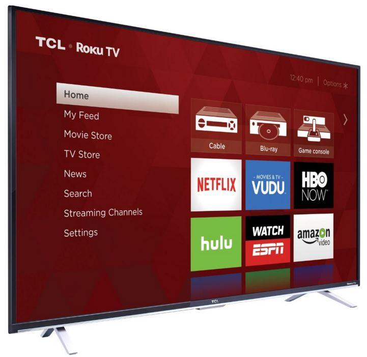 Tcl 65 55 4k Ultra Hd Roku Smart Led 2016 Tv Review