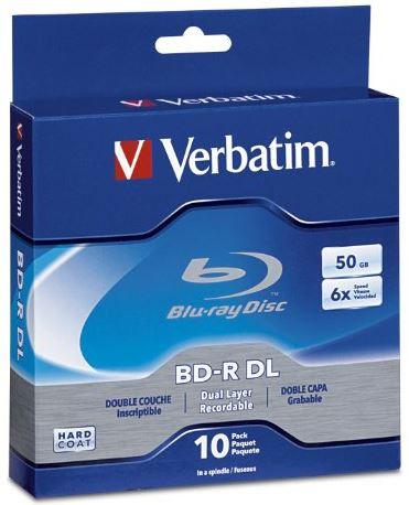 Verbatim-50-GB-6x-BD-R-DL-Discs