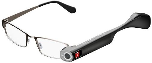 7 TheiaPro App Enabled EyeGlasses Camera