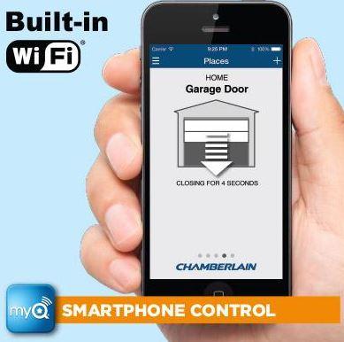 Best smartphone enabled wifi garage door openers 2017 2018 for App to open garage door