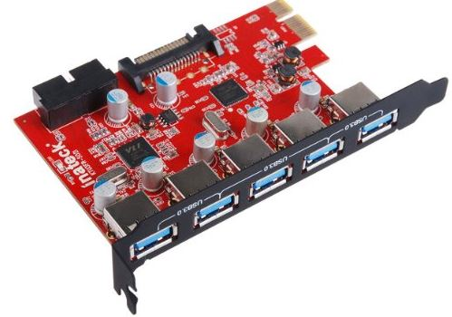 Inateck PCI-E to USB 3.0 PCI Express Card