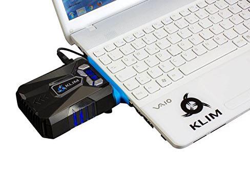 KLIM Innovative Cooling Design Gaming Laptop Cooler