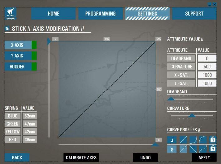 Saitek Pro X-56 software