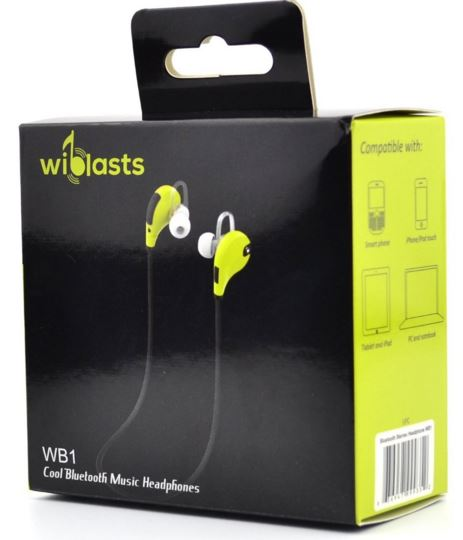 WiBlasts Bluetooth Headphones