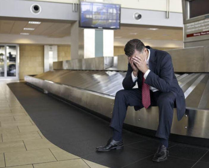 losing luggage