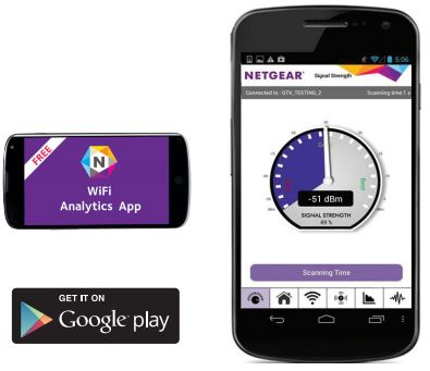 wifi analytics app