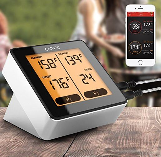 Cappec Luxury Bluetooth Wireless Meat Thermometer