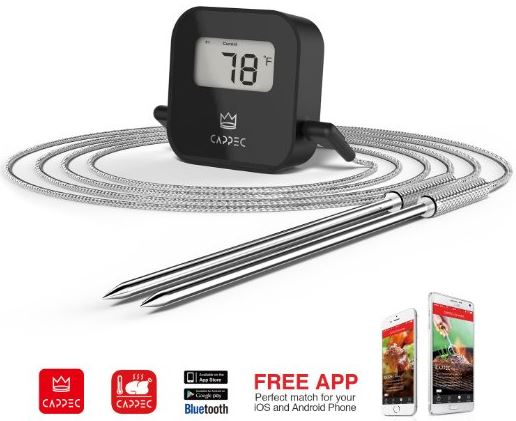 Cappecs Bluetooth BBQ Thermometer
