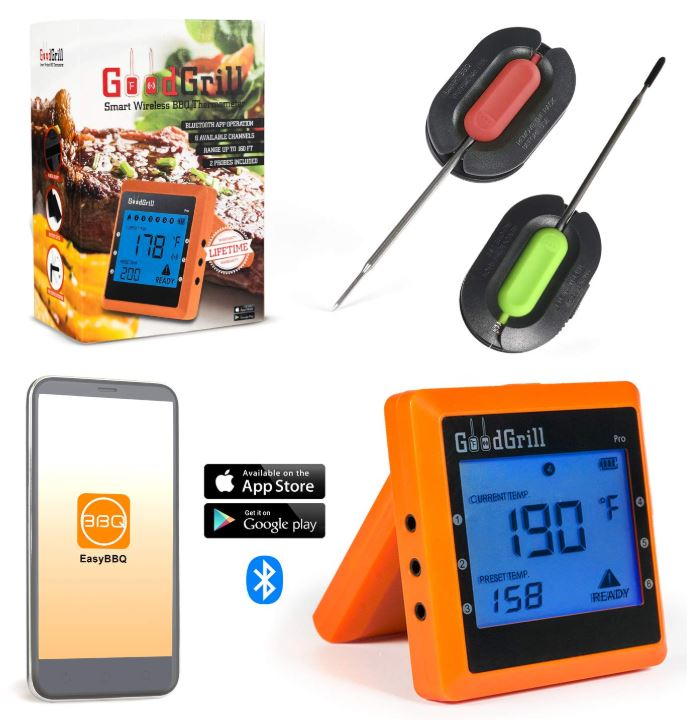 GoodGrill Wireless Meat Thermometer System